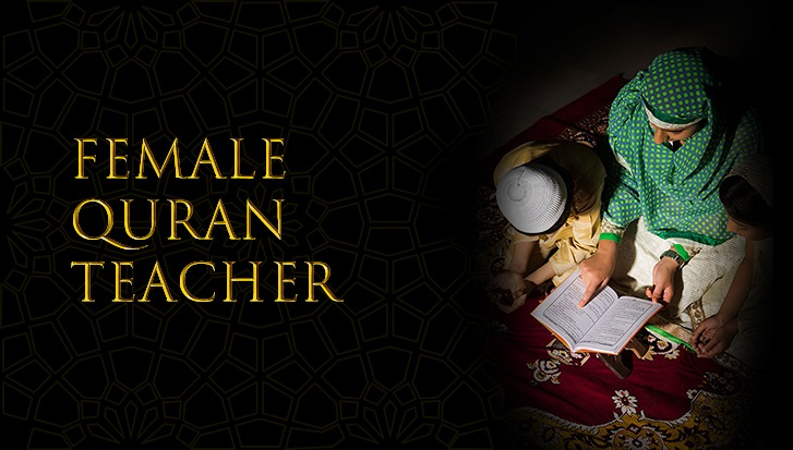 Female Quran Teacher Online
